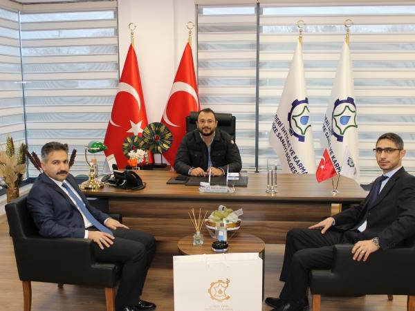 Ergene Kaymakamımız Mehmet Emin TAŞÇI 'dan bölgemize iade-i Ziyaret